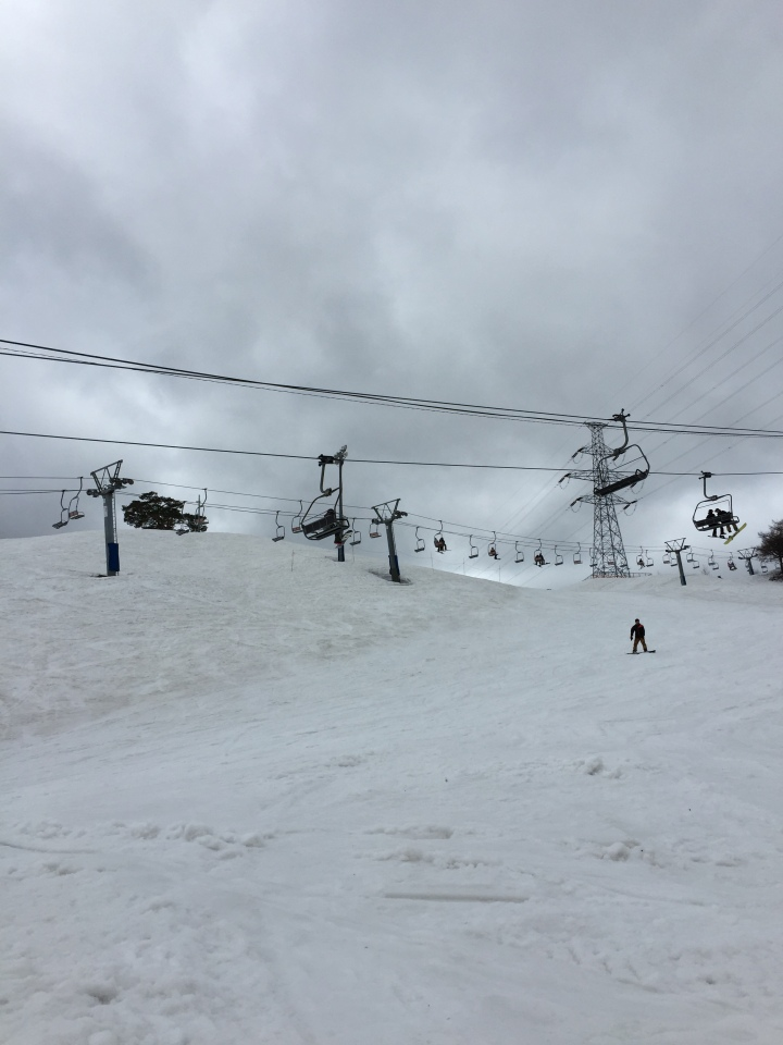 Snow in Spring (Dynaland Ski Resort)