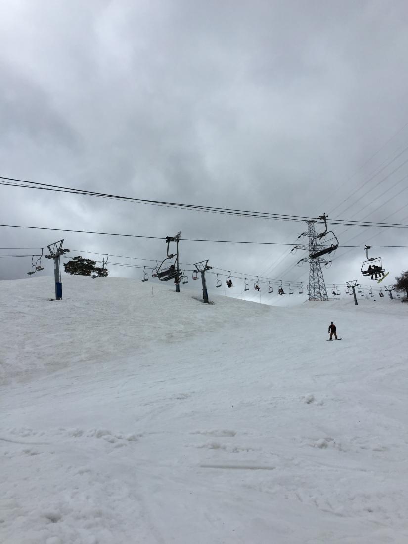 Snow in Spring (Dynaland SkiResort)