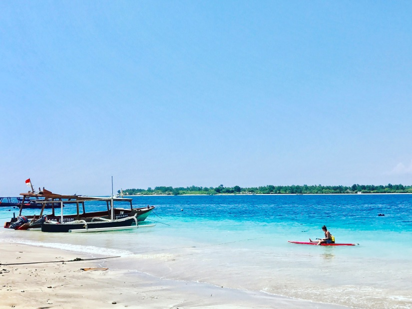 The Gili Islands, NO cars! NO motorbikes! NO worries…!